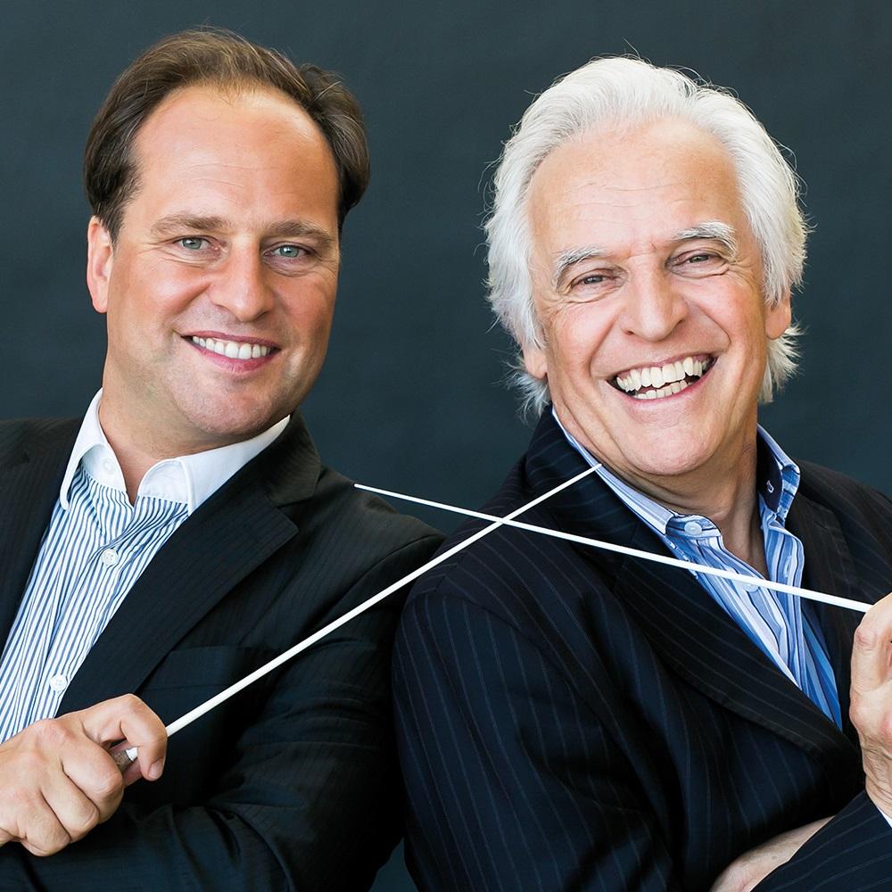 Bogányi Tibor és Gilbert Varga, vezető karmesterek